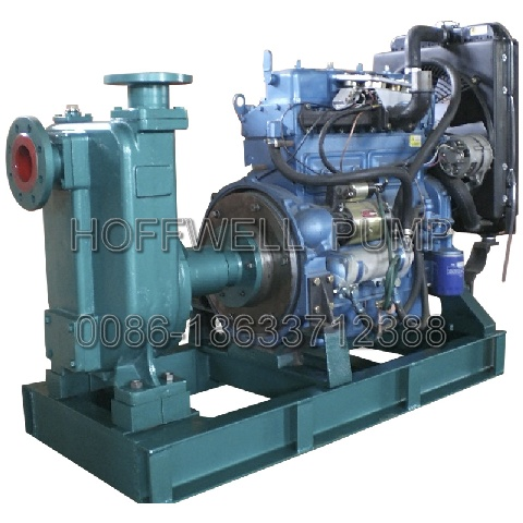 CYZ Centrifugal Pump with Diesel Engine