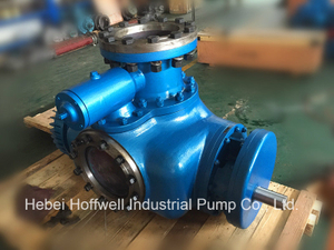 CE Approved W. V Bonemann Twin Screw Pump