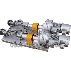 G Cast Iron or Stainless Steel Single Screw Pump