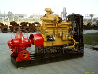 Double Suction Split Casing Fire Centrifugal Pump