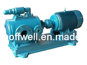 3GBW Heat Insulation Triple Three Screw Asphalt Pump