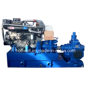 Cast Iron Diesel Engine Drive Cargo Oil External Gear Pump