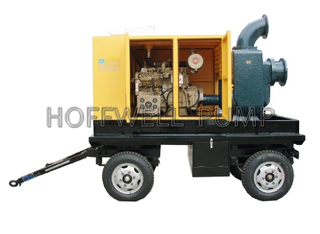 CYZ Trailer Diesel Engine Self-Priming Centrifugal Water Pump