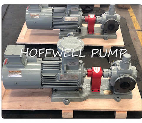 Cast Iron Lube Oil YCB External Gear Pump